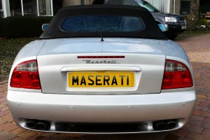 Webber Maserati MR 2 Rear